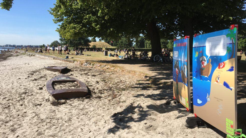 Sørøver Max ved Charlottenlund strandpark