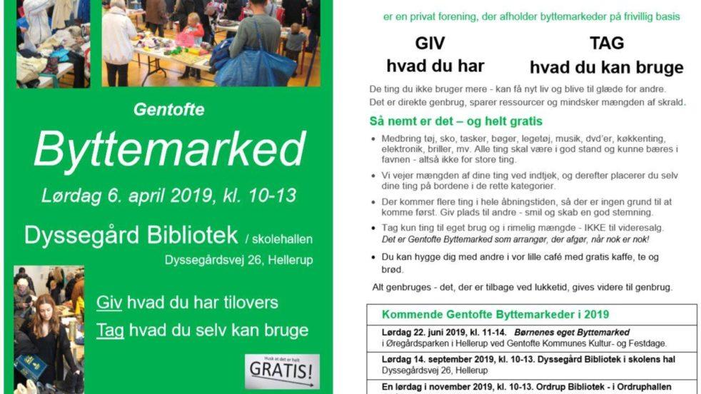 Plakat for byttemarked