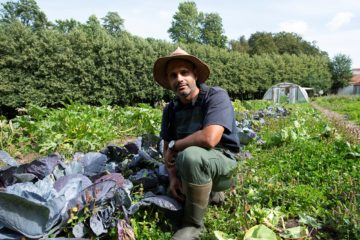 Manden bag Den Gamle Køkkenhave: Vi danser med naturen
