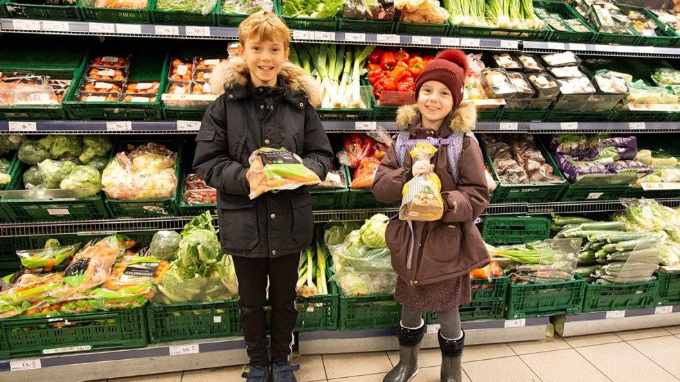 Skoler og supermarkeder går sammen i kampen mod madspild
