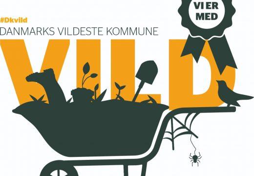 Logo for Danmarks vildeste kommune